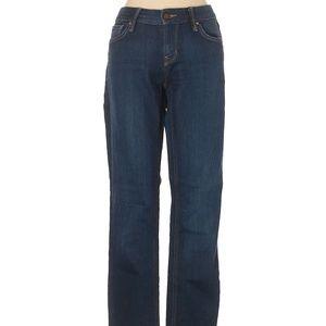 Gap 1969 Real Straight Denim Jeans Dark Wash